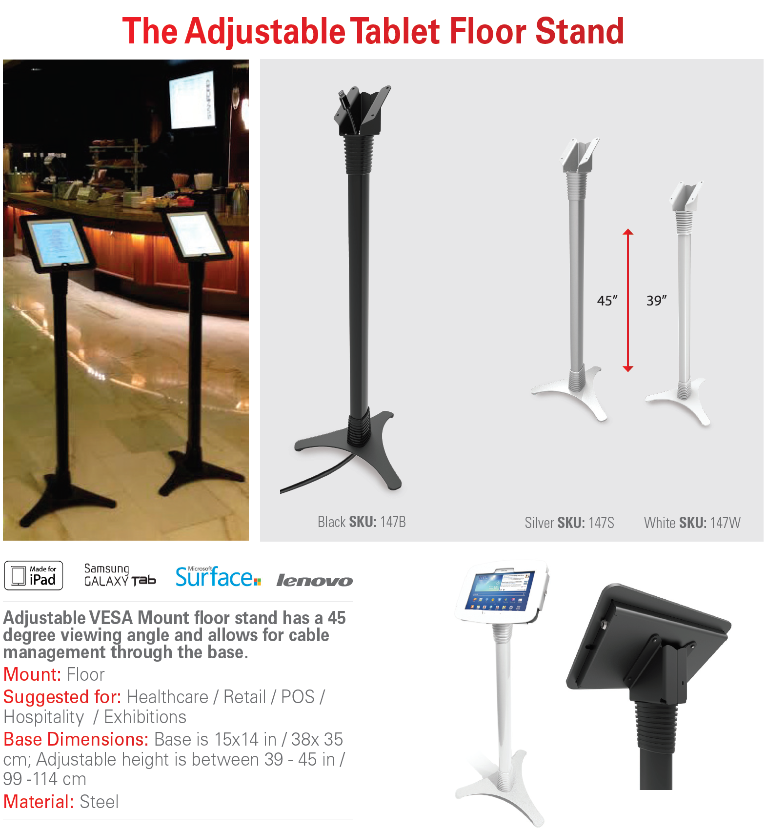 Security Floor Stand