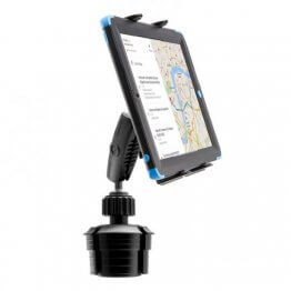 """Vehicle Universal Tablet Holder with 4"""" Arm Cup Holder Base"""