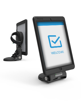 Hand Grip and Dock Tablet Stand